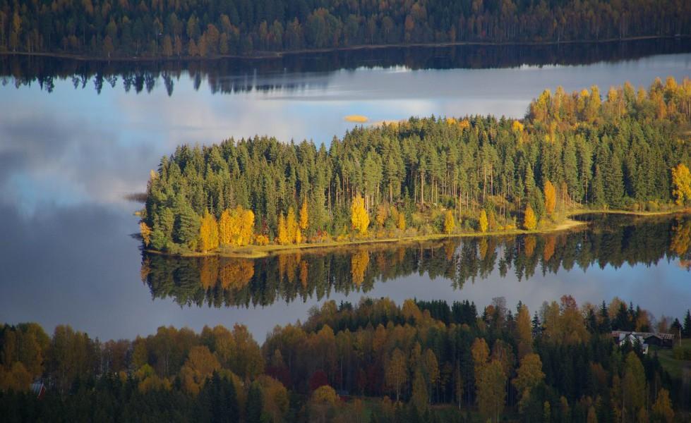 Camping45, utsikt över sjö