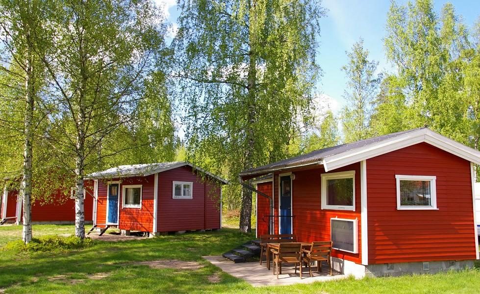 Camping 45, stugor