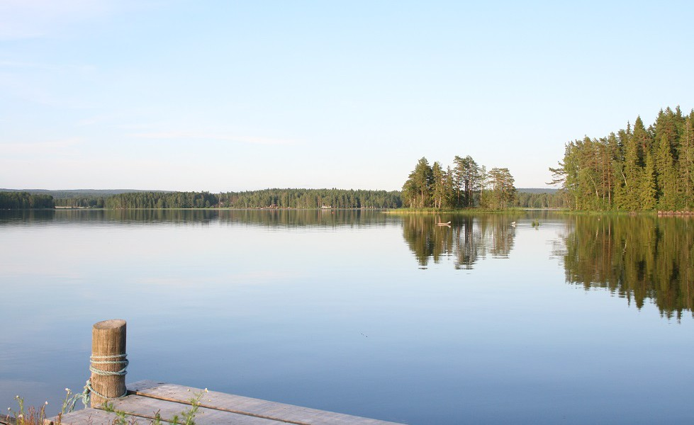 Sundsviks gård, sjön