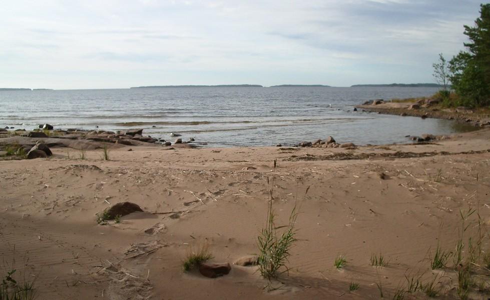 Jäveröleden Bredviken strand