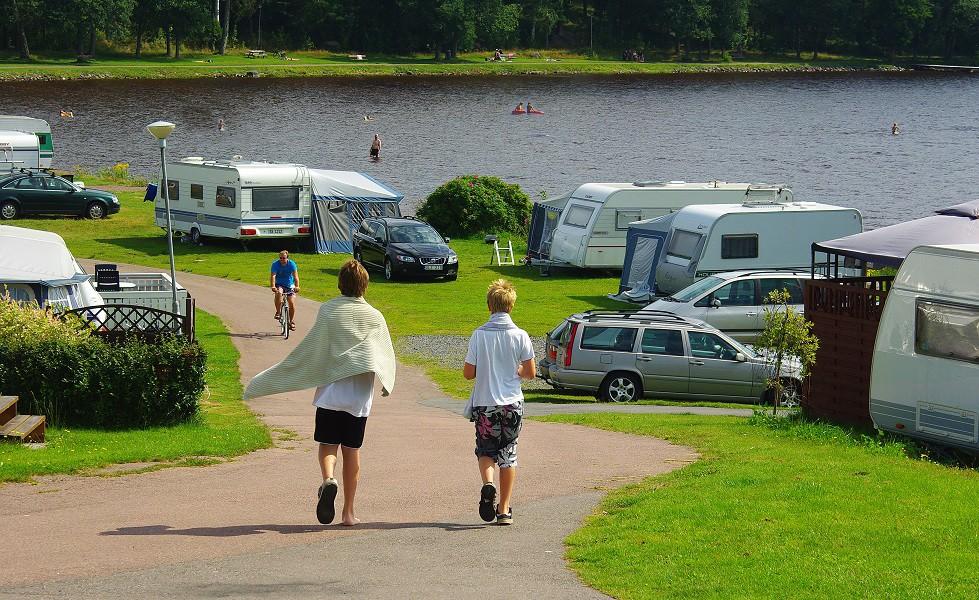 Sunne Swecamp, husvagnar och bad